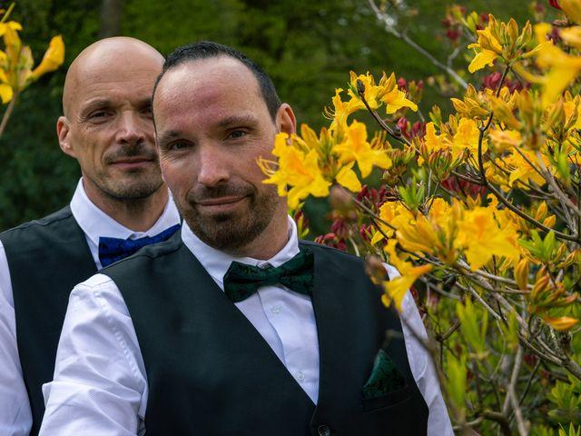 Le mariage de Sylvain et Jean à Roudouallec, Morbihan 2