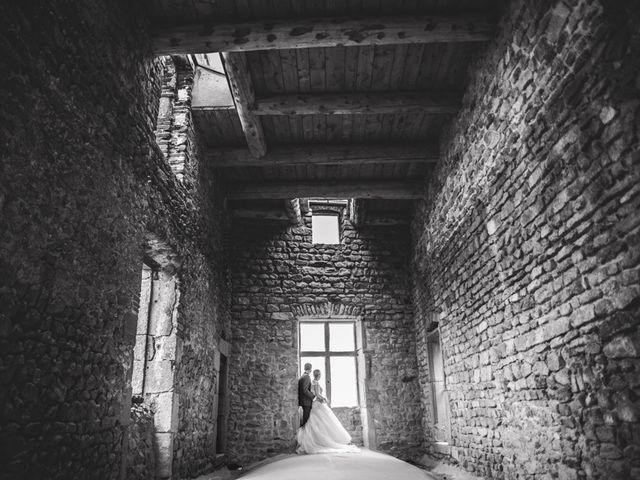 Le mariage de Sylvain et Marine à Saint Just Saint Rambert, Loire 1