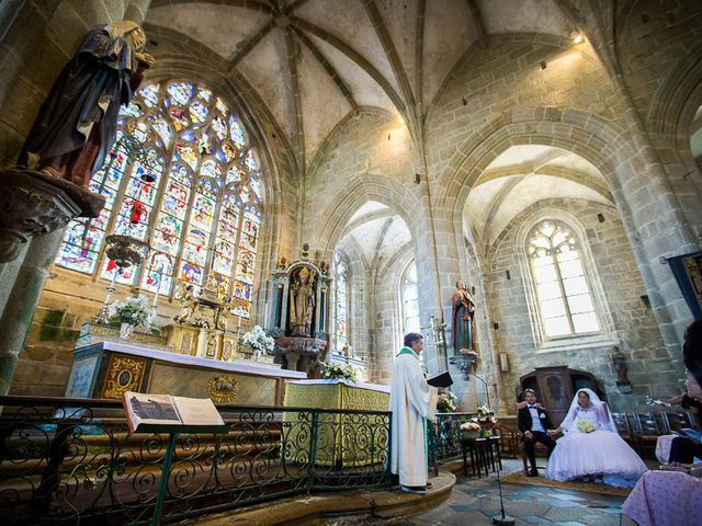 Le mariage de Altin et Denise à Locronan, Finistère 12