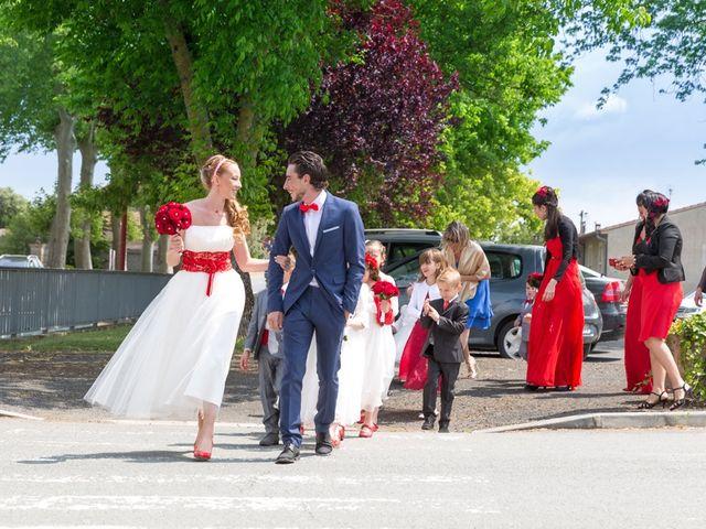 Le mariage de David et Marjorie à Vénès, Tarn 16