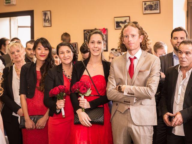 Le mariage de David et Marjorie à Vénès, Tarn 22