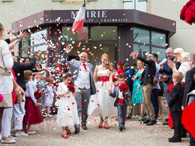 Le mariage de David et Marjorie à Vénès, Tarn 34