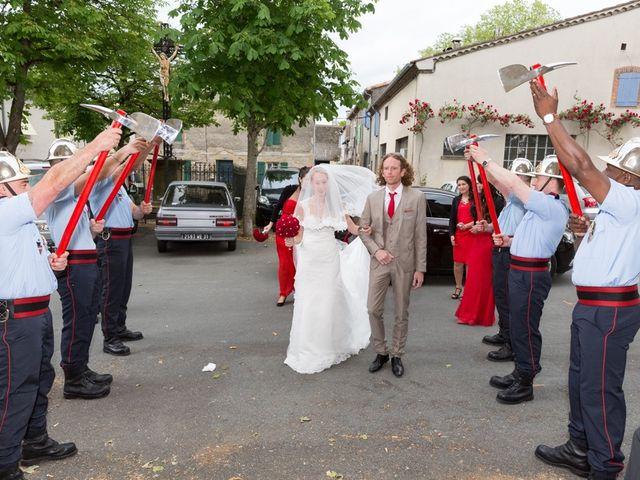 Le mariage de David et Marjorie à Vénès, Tarn 47