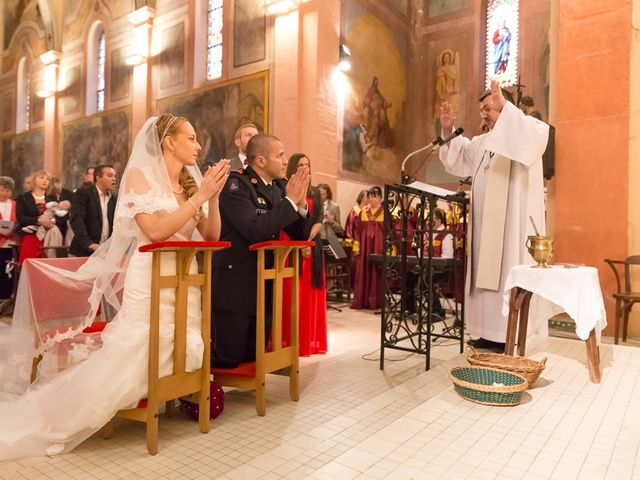 Le mariage de David et Marjorie à Vénès, Tarn 56