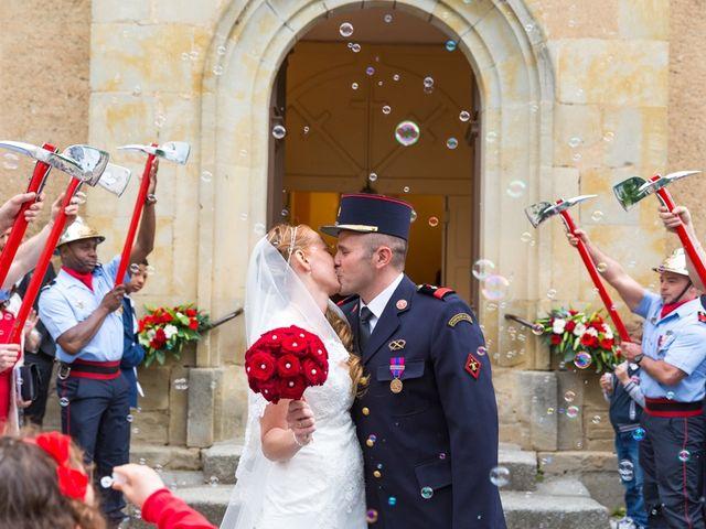 Le mariage de David et Marjorie à Vénès, Tarn 63
