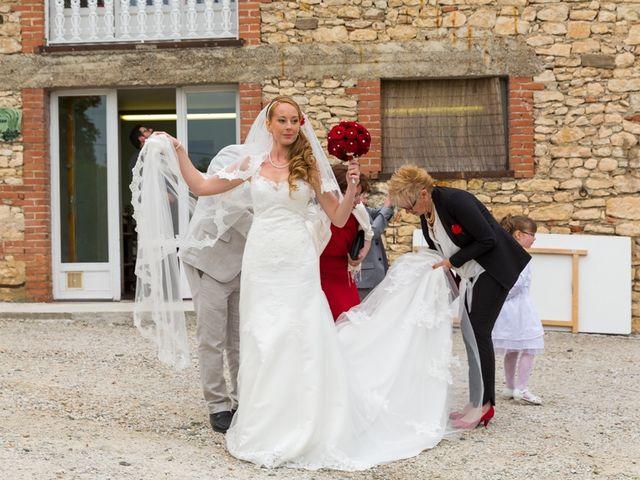 Le mariage de David et Marjorie à Vénès, Tarn 74