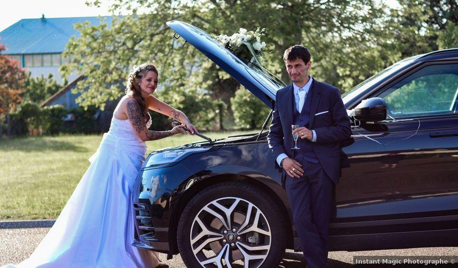 Le mariage de Sébastien et Jessica à Châteauroux, Indre
