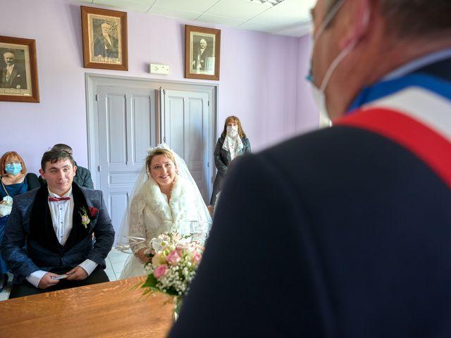 Le mariage de David et Christelle à Saint-Vincent-des-Prés, Sarthe 11