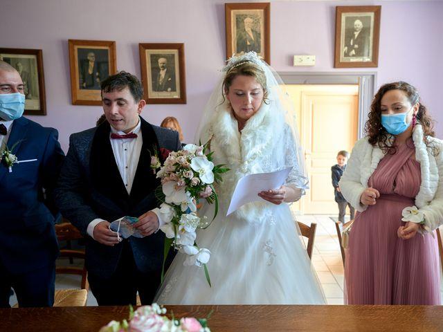 Le mariage de David et Christelle à Saint-Vincent-des-Prés, Sarthe 15