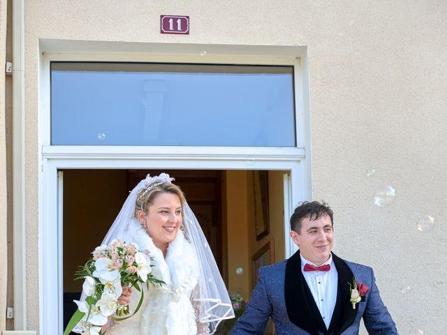 Le mariage de David et Christelle à Saint-Vincent-des-Prés, Sarthe 17