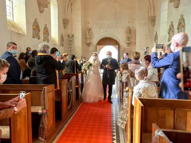 Le mariage de David et Christelle à Saint-Vincent-des-Prés, Sarthe 24
