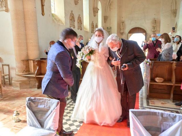 Le mariage de David et Christelle à Saint-Vincent-des-Prés, Sarthe 25