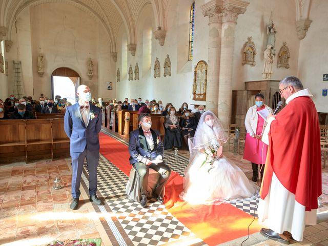 Le mariage de David et Christelle à Saint-Vincent-des-Prés, Sarthe 27