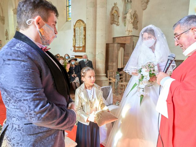 Le mariage de David et Christelle à Saint-Vincent-des-Prés, Sarthe 28