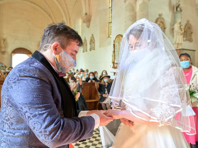 Le mariage de David et Christelle à Saint-Vincent-des-Prés, Sarthe 29