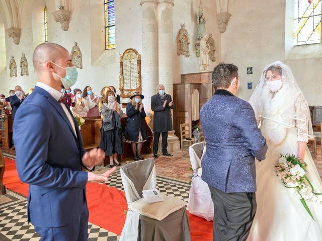 Le mariage de David et Christelle à Saint-Vincent-des-Prés, Sarthe 31