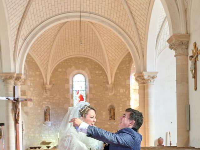 Le mariage de David et Christelle à Saint-Vincent-des-Prés, Sarthe 32
