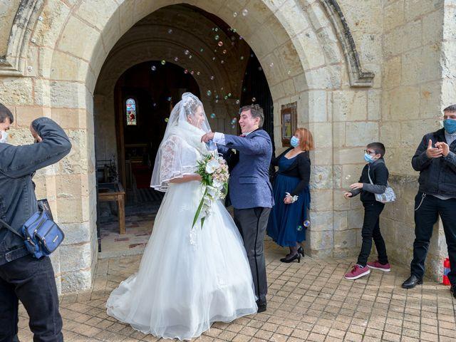 Le mariage de David et Christelle à Saint-Vincent-des-Prés, Sarthe 33