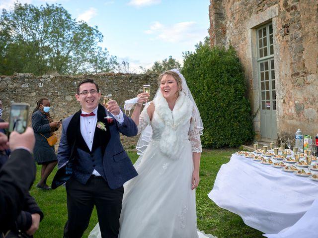 Le mariage de David et Christelle à Saint-Vincent-des-Prés, Sarthe 50