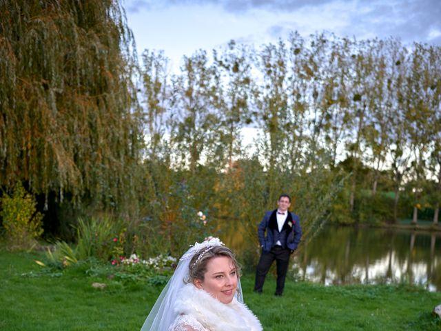 Le mariage de David et Christelle à Saint-Vincent-des-Prés, Sarthe 56