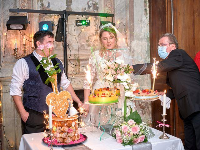 Le mariage de David et Christelle à Saint-Vincent-des-Prés, Sarthe 64