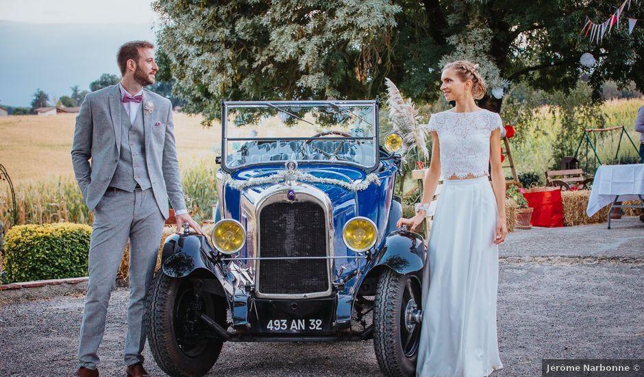 Le mariage de Pierre Julien et Mathilde à Auch, Gers
