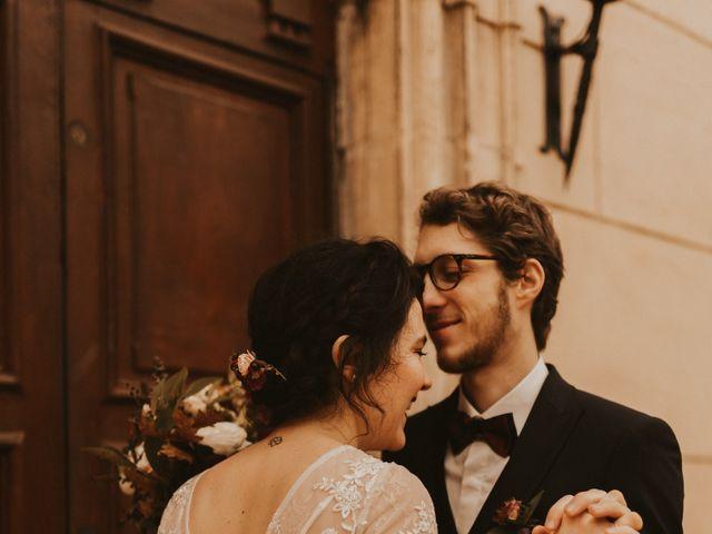 Le mariage de Luc-Alban et Alexane à Saint-Paul-en-Jarez, Loire 75