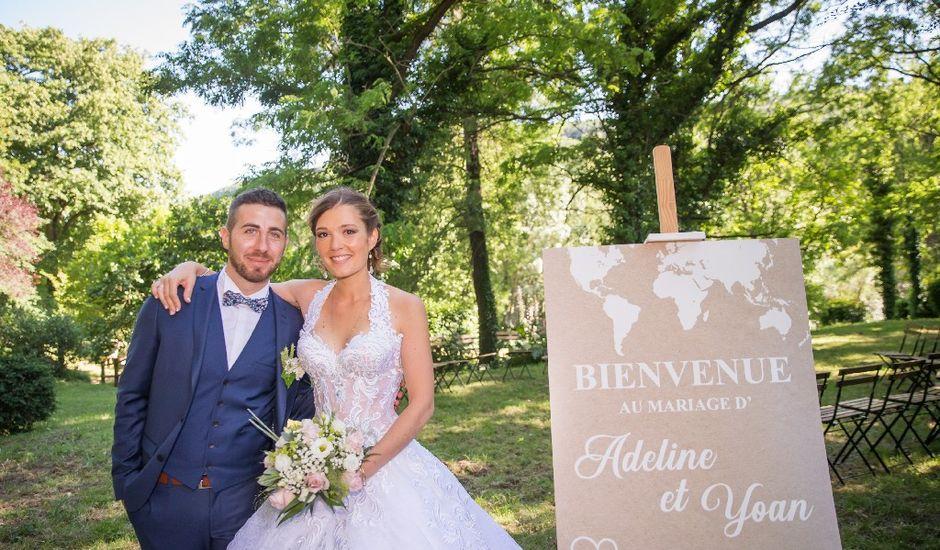 Le mariage de Yoan et Adeline  à Les Plans, Gard
