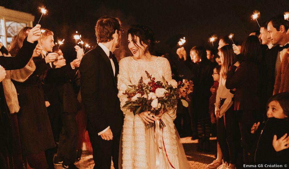 Le mariage de Luc-Alban et Alexane à Saint-Paul-en-Jarez, Loire
