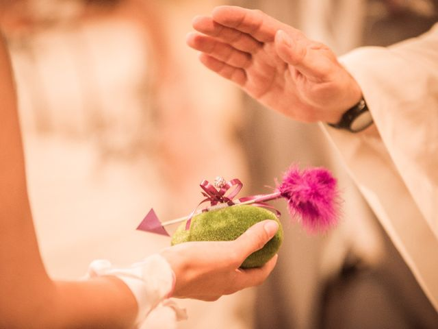 Le mariage de Xavier et Elodie à Saint-Laurent-d'Agny, Rhône 10