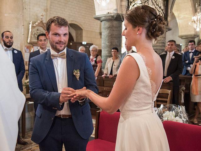 Le mariage de Mathieu et Anaïs à La Pommeraye, Calvados 54