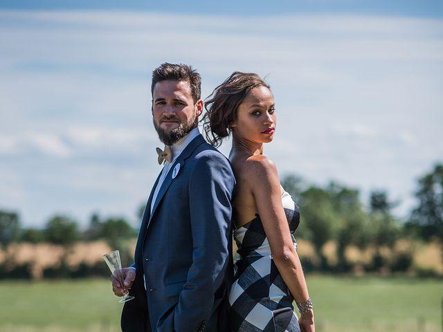 Le mariage de Mathieu et Anaïs à La Pommeraye, Calvados 77