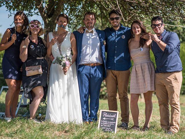 Le mariage de Mathieu et Anaïs à La Pommeraye, Calvados 81