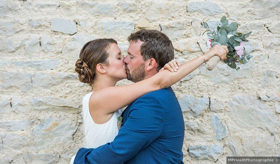 Le mariage de Mathieu et Anaïs à La Pommeraye, Calvados