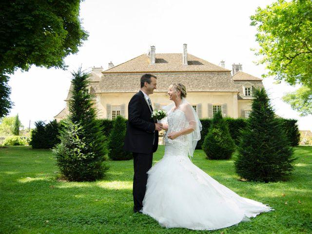 Le mariage de Cédric et Aurore à Gergy, Saône et Loire 4