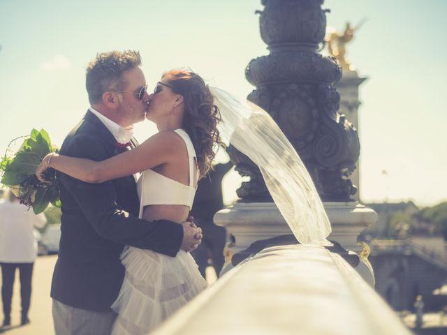 Le mariage de Aaron et Wendy à Paris, Paris 8