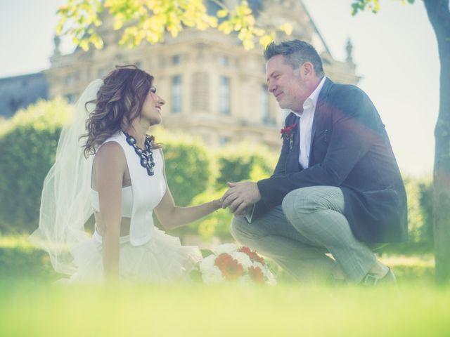 Le mariage de Aaron et Wendy à Paris, Paris 10