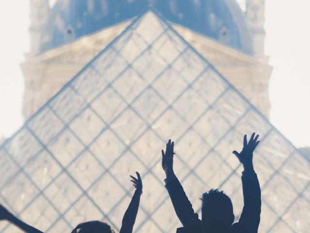 Le mariage de Aaron et Wendy à Paris, Paris 18
