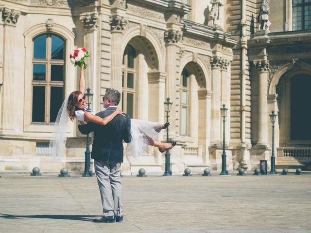 Le mariage de Aaron et Wendy à Paris, Paris 19