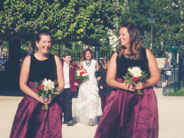 Le mariage de Aaron et Wendy à Paris, Paris 20