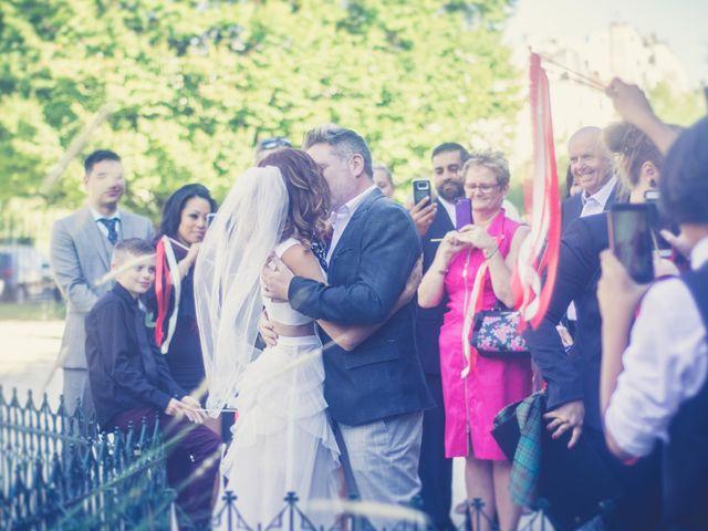 Le mariage de Aaron et Wendy à Paris, Paris 28
