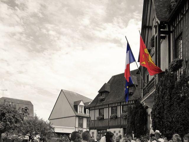 Le mariage de Vincent et Claudia à Deauville, Calvados 13