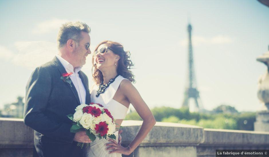 Le mariage de Aaron et Wendy à Paris, Paris