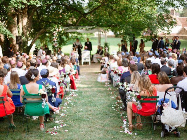 Le mariage de Charles et Clara à Vallery, Yonne 12