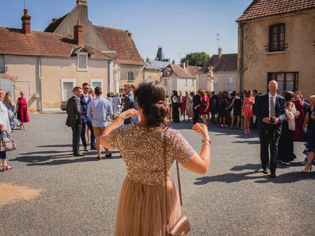 Le mariage de Bastien et Constance à Bannegon, Cher 7
