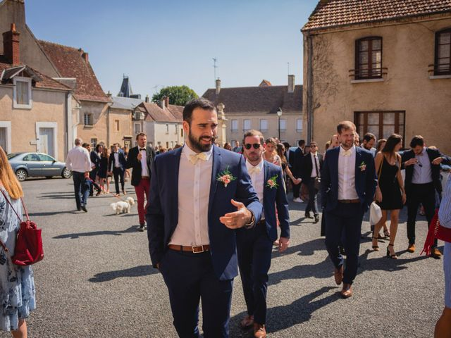 Le mariage de Bastien et Constance à Bannegon, Cher 9
