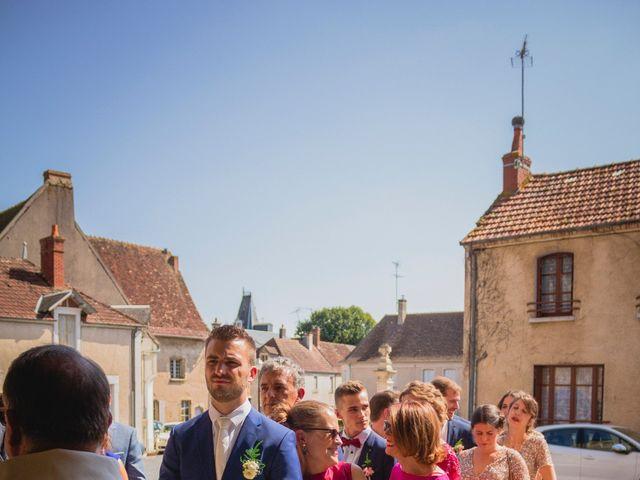 Le mariage de Bastien et Constance à Bannegon, Cher 10