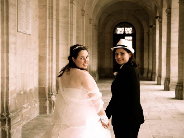 Le mariage de Angèle et Hélène