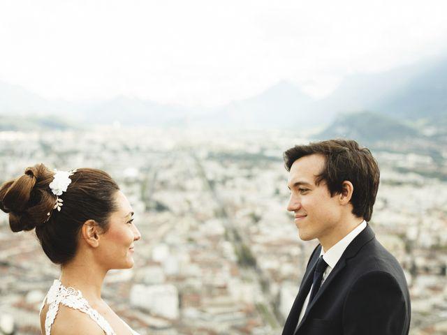 Le mariage de Florant et Oceane à Grenoble, Isère 53