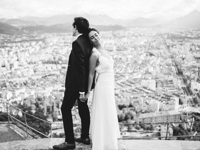 Le mariage de Florant et Oceane à Grenoble, Isère 59